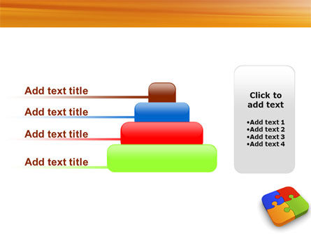 Jigsaw Pieces PowerPoint Template Slide 8