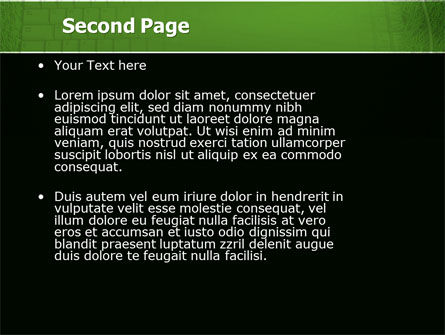 Green Technology PowerPoint Template, Slide 2, 04173, Computers — PoweredTemplate.com