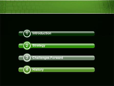 Green Technology PowerPoint Template Slide 3