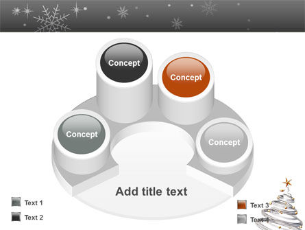 New Year Tree PowerPoint Template Slide 12