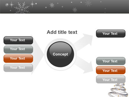 New Year Tree PowerPoint Template Slide 14