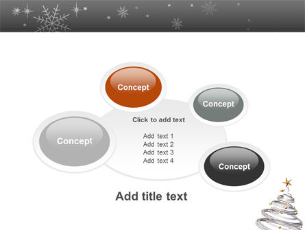 New Year Tree PowerPoint Template Slide 16