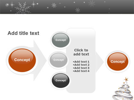 New Year Tree PowerPoint Template Slide 17