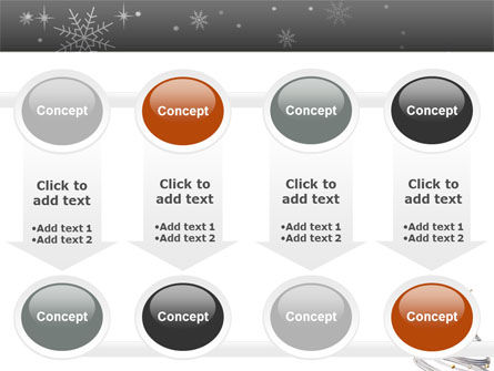 New Year Tree PowerPoint Template Slide 18