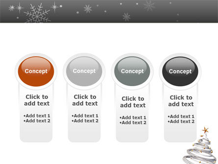 New Year Tree PowerPoint Template Slide 5