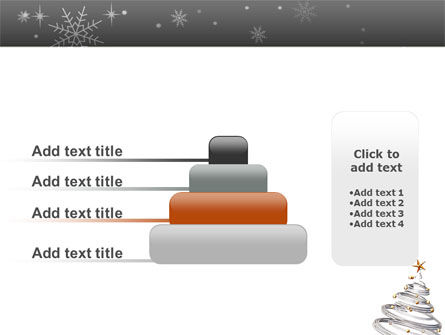 New Year Tree PowerPoint Template Slide 8