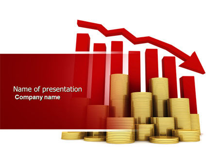 Financial/Accounting: Company Financial Results PowerPoint Template #04175