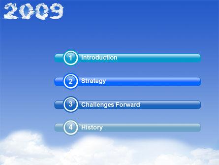 2009 N Opportunities PowerPoint Template Slide 3