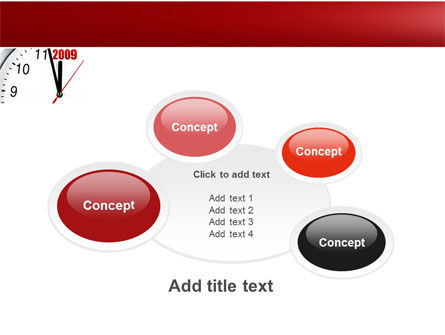 2009 Almost Here PowerPoint Template Slide 16
