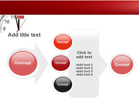 2009 Almost Here PowerPoint Template Slide 17