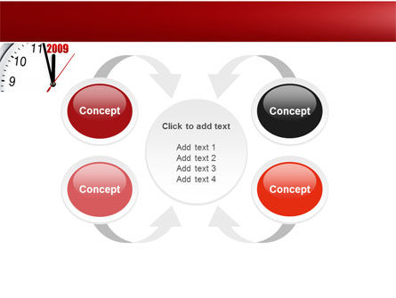 2009 Almost Here PowerPoint Template Slide 6