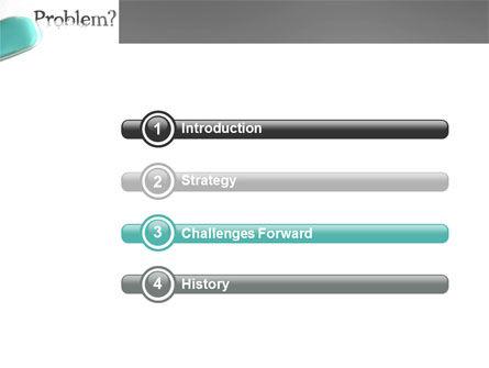 Erasing a Problem PowerPoint Template, Slide 3, 04178, Consulting — PoweredTemplate.com