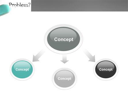 Erasing a Problem PowerPoint Template, Slide 4, 04178, Consulting — PoweredTemplate.com