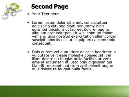 Recycle Technology PowerPoint Template Slide 2