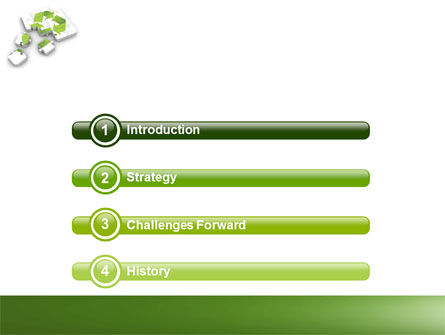 Recycle Technology PowerPoint Template Slide 3