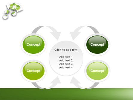 Recycle Technology PowerPoint Template Slide 6