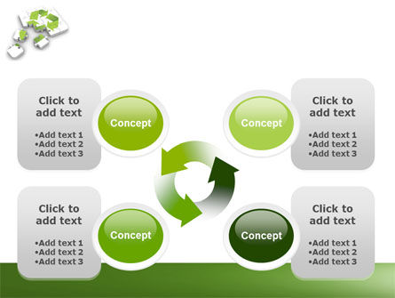 Recycle Technology PowerPoint Template Slide 9