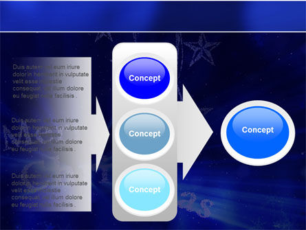Blue Christmas PowerPoint Template Slide 11