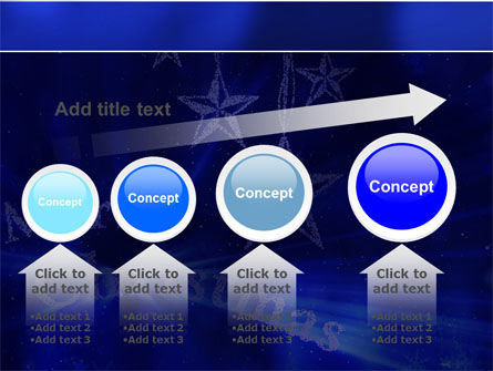 Blue Christmas PowerPoint Template Slide 13
