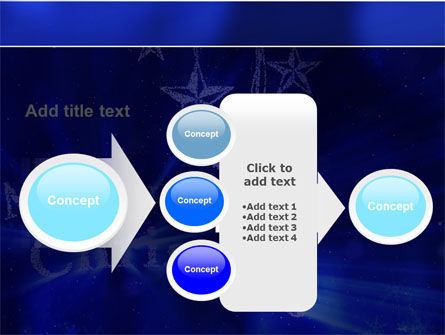 Blue Christmas PowerPoint Template Slide 17