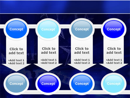 Blue Christmas PowerPoint Template Slide 18