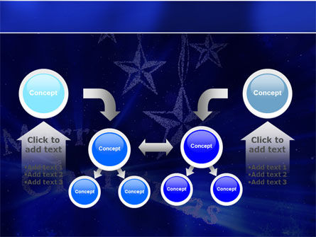 Blue Christmas PowerPoint Template Slide 19