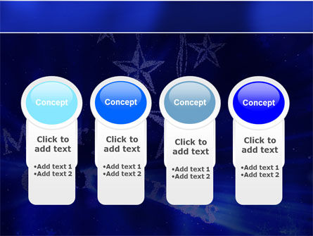 Blue Christmas PowerPoint Template Slide 5