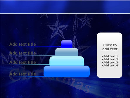 Blue Christmas PowerPoint Template Slide 8