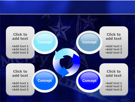 Blue Christmas PowerPoint Template Slide 9