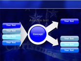 Blue Christmas PowerPoint Template#14