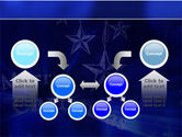 Blue Christmas PowerPoint Template#19