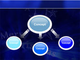 Blue Christmas PowerPoint Template#4
