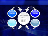 Blue Christmas PowerPoint Template#6