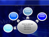 Blue Christmas PowerPoint Template#7