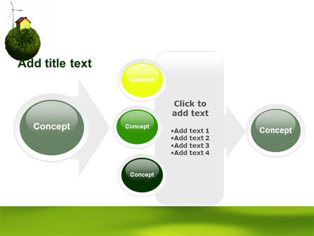 Green Planetoid PowerPoint Template Slide 17