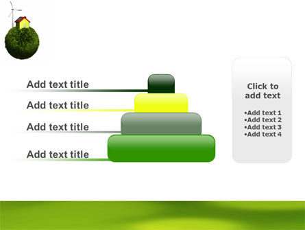 Green Planetoid PowerPoint Template Slide 8