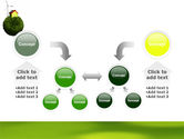 Green Planetoid PowerPoint Template#19