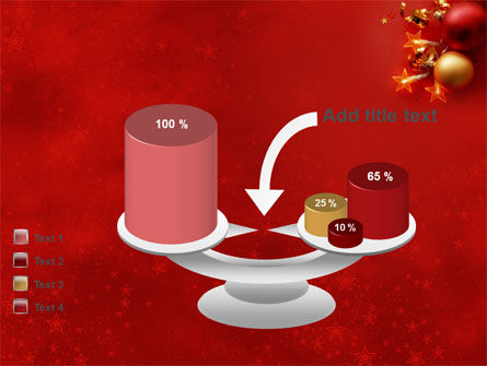 Red Christmas Theme PowerPoint Template Slide 10