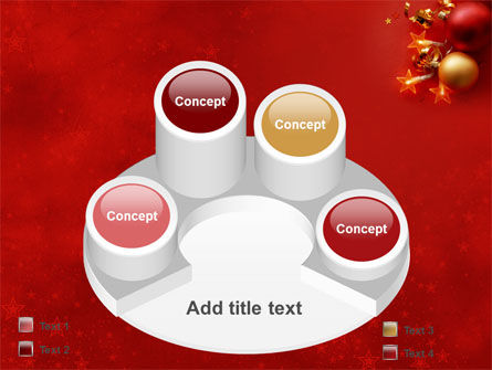 Red Christmas Theme PowerPoint Template Slide 12