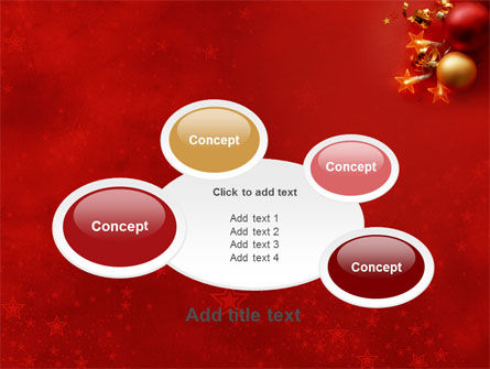 Red Christmas Theme PowerPoint Template Slide 16