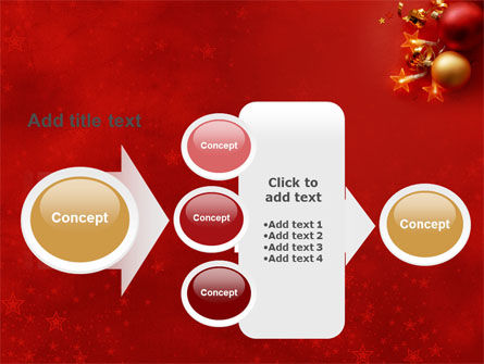 Red Christmas Theme PowerPoint Template Slide 17
