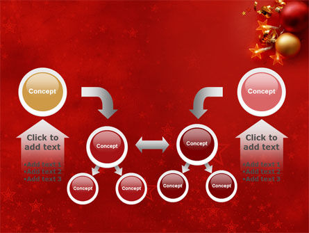 Red Christmas Theme PowerPoint Template Slide 19