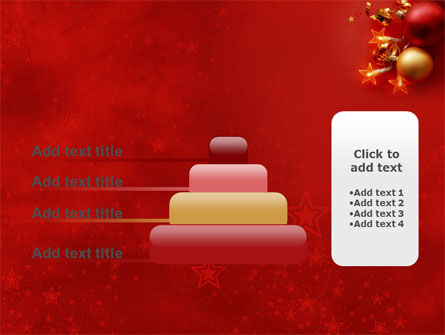 Red Christmas Theme PowerPoint Template Slide 8