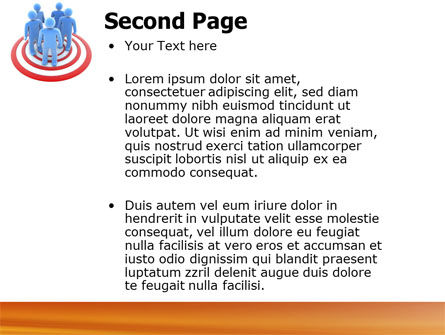 Target Audience PowerPoint Template, Slide 2, 04187, Consulting — PoweredTemplate.com