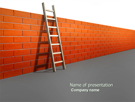 Obstacle PowerPoint Template, 04189, Consulting — PoweredTemplate.com