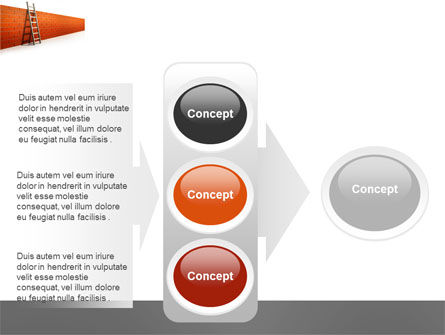 Obstacle PowerPoint Template Slide 11