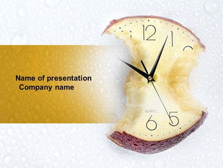 Time's Up PowerPoint Template