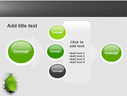 Green Idea PowerPoint Template Slide 17