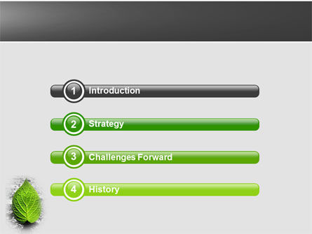 Green Idea PowerPoint Template, Slide 3, 04193, Nature & Environment — PoweredTemplate.com