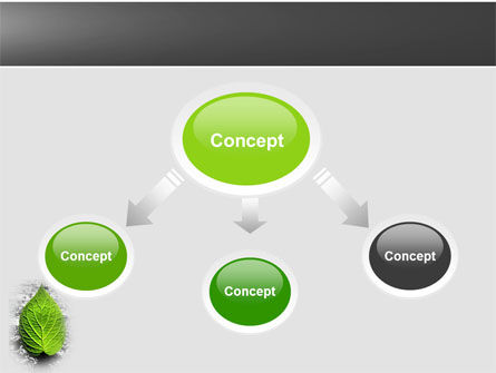 Green Idea PowerPoint Template, Slide 4, 04193, Nature & Environment — PoweredTemplate.com